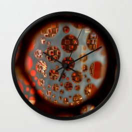 Through the Vase Wall Clock