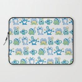 Lil Monsters Pattern Laptop Sleeve