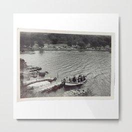 Vintage Boat Photo Metal Print