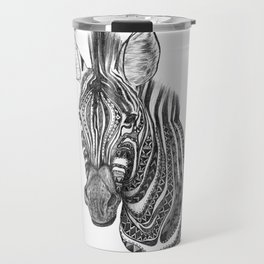 Aztec zebra Travel Mug