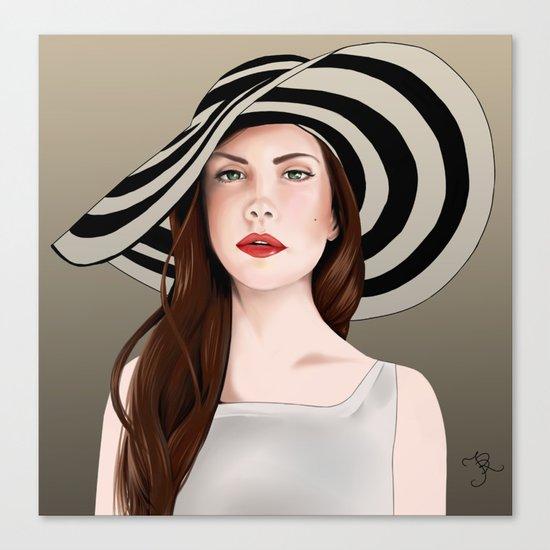 LanaDelRey Canvas Print