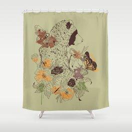 Northern Bear Shower Curtain
