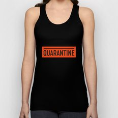 Quarantine Unisex Tank Top
