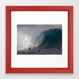 HAWAII'S MARK HEALEY  Framed Art Print