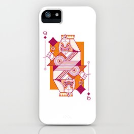 Delirium Queen of Diamonds iPhone Case