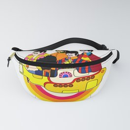 Yellow Submarine - Pop Art Fanny Pack