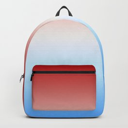 Geronimo - Red White Blue Color Gradient Backpack