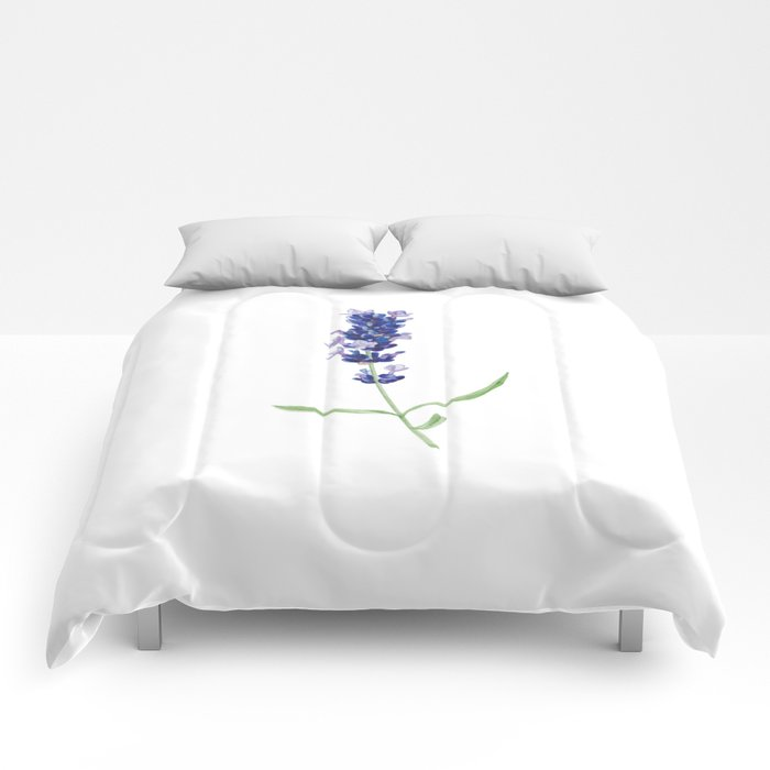 Lavender Flower Comforters
