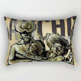 SANCHO! (Modern Don Quijote)  Rectangular Pillow