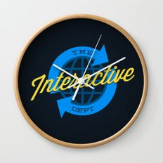 The Interactive Department Wall Clock