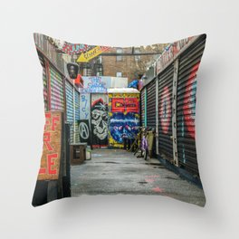 NYC Shops Throw Pillow