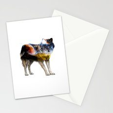Chill Wolf ||| Stationery Cards