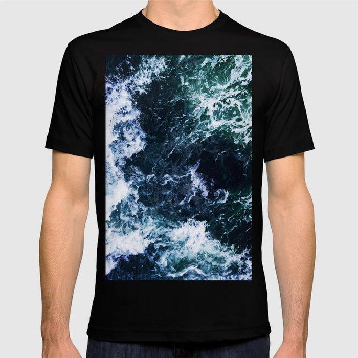 Wild ocean waves T-shirt