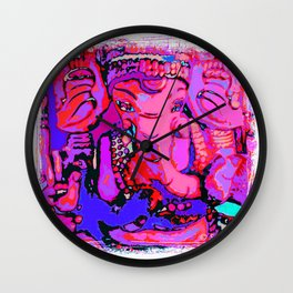 Ganesha (3) S Wall Clock