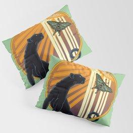 Jaguar Plain Art Deco Pillow Sham
