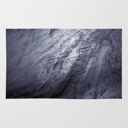 Ice age, silver Rug
