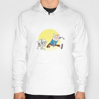 tintin Hoodies featuring Tintin Adventure by jasesa