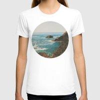 oregon T-shirts featuring Oregon Coast by Leah Flores