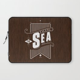 Facing The Sea Laptop Sleeve