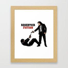 Reservoir Fiction Framed Art Print