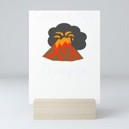 Science Fair Champion Volcano Mini Art Print