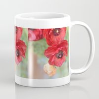 ruby Mugs featuring Ruby by Lisa Argyropoulos