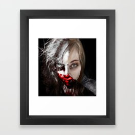 Everyone Has Another Side  Framed Art Print