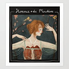 Florence + the Machine Art Print