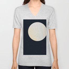 Bright Moon Unisex V-Neck