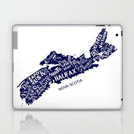 Nova Scotia Map Laptop & iPad Skin