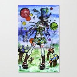 Teaparty Z Canvas Print