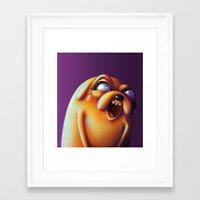 jake Framed Art Prints featuring Jake  by Kamory