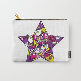 PINK STAR Carry-All Pouch
