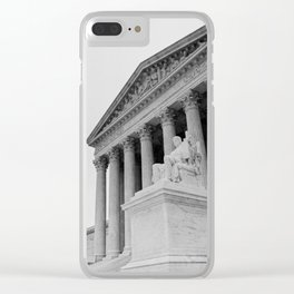 United States Supreme Court Building Clear iPhone Case