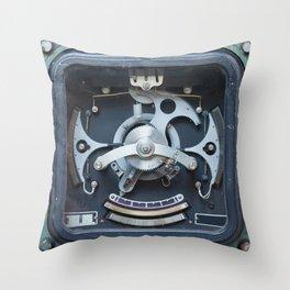 The Gauge Throw Pillow