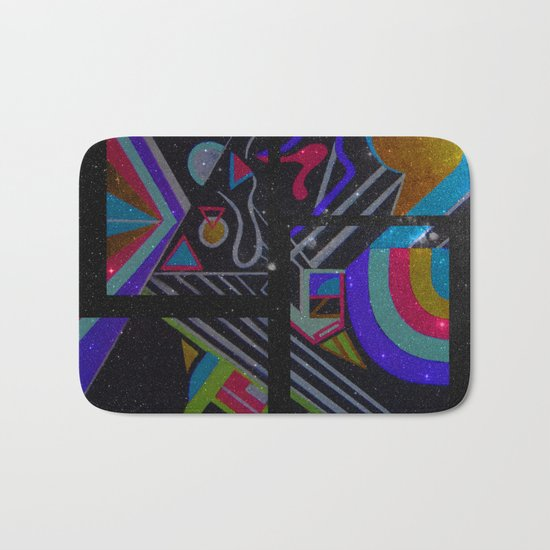 Pastel Series Nebulae Bath Mat
