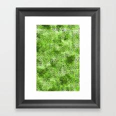 Wild (Series) Lime Framed Art Print