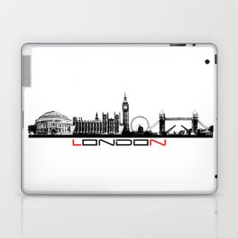 London skyline city #london Laptop & iPad Skin