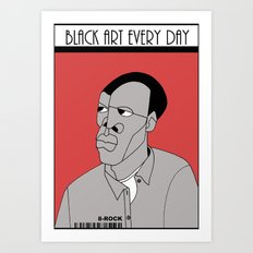 1001 Black Men--#45 Art Print