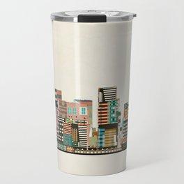 portland oregon skyline Travel Mug