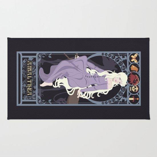 Amalthea Nouveau - The Last Unicorn Rug