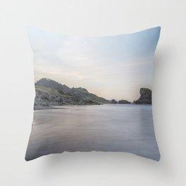 Dawn at Meyers Creek Beach Throw Pillow