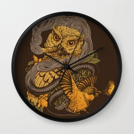 BIGMEAL Wall Clock