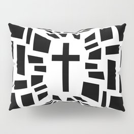 Christian Cross Pillow Sham
