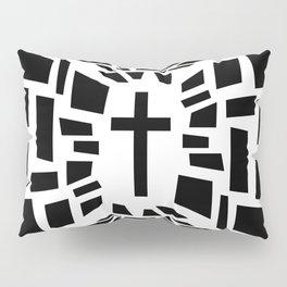Christian Cross Pillow Sham