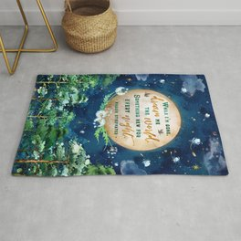 Dream me the world Rug