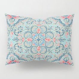 Gypsy Floral in Red & Blue Pillow Sham