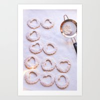 baking Art Prints featuring Baking by Haley Parson