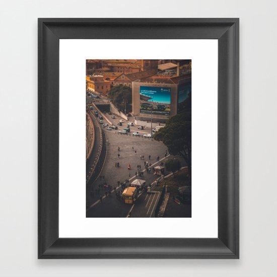 Toy Town Framed Art Print