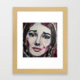 Casta Diva Framed Art Print